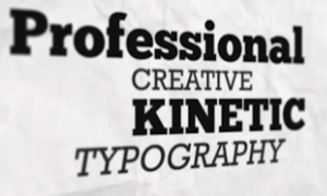 Creative Kinetic Typography Video2
